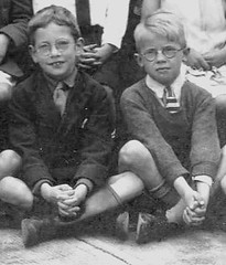 The Swots (theirhistory) Tags: school boy glasses scotland kid child tie class jacket specs jumper form schoolphoto blazer wellingtons