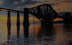 forth railway bridge (gmcdonald008) Tags: bridge water delete5 delete2 railway delete delete4 forth flickrsbestpics