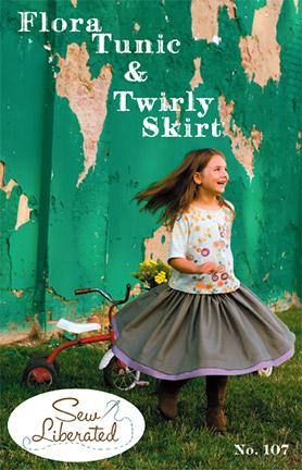 Flora Tunic and Twirly Skirt pattern