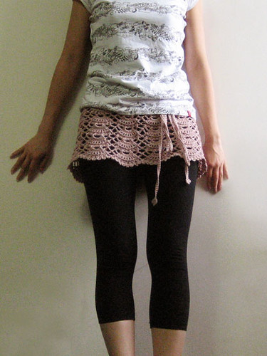 Hairpin Lace Skirt Crochet Pattern - Crochet Patterns , Knit