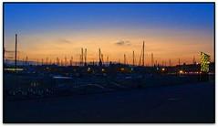 Port Vell, Barcelona (Jess Cano Snchez) Tags: barcelona sunset sea port canon puerto mar spain mediterranean mediterraneo barco ship harbour catalonia catalunya ocaso hdr catalua barcelones portvell postadesol vaixell espanya ciutatvella mediterrani marenostrum powershotg3 elsenyordelsbertins catalunyaalesfosques