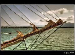 Bauprs de proa (Josepargil) Tags: mar barco velas navegar cabos velero proa bauprs josepargil