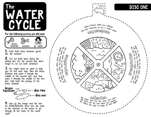 Water Cycle Worksheets B/W by RNSaffold