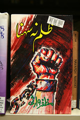 Throw off your chains (quinn.anya) Tags: pakistan book chains hand coverart cover fist shackles pakistani breaking southasian urdu