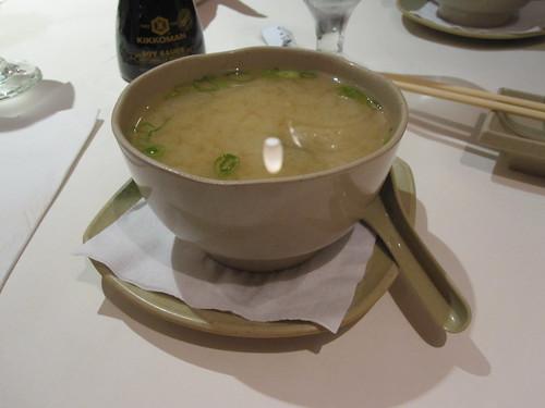 Miso soup at Tokyo
