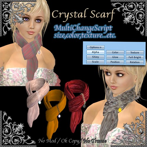 *Miroku*Crystal Scarf