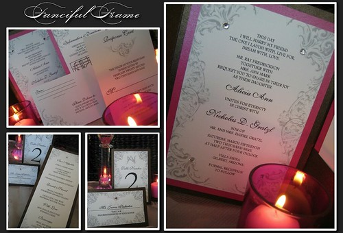 Fanciful Frame Invitation