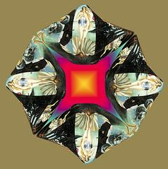 72-tassellatura a petalo la nascita di venere con radiografia (gianniscaburri) Tags: petali venere piastrella tassellatura