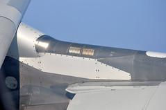 "[09:24] + 00' 16"" A330 pylon: detail. (A380spotter) Tags: engine pylon airbus a330 qr generalelectric qatarairways qtr 300x  a7aei 21000feet cf680e1a4b cruise21k dohdxb alqatariya qr0100 flight16102009qr0100dohdxb12b0040"