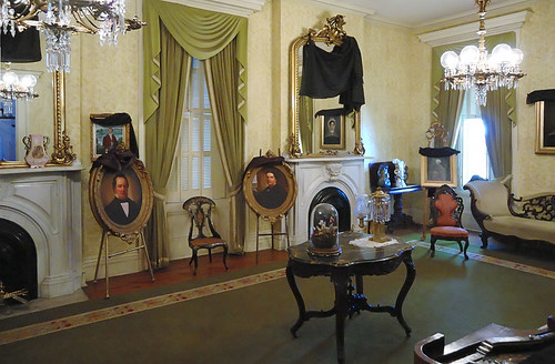 Chatillon - DeMenil House, in Saint Louis, Missouri, USA - parlor