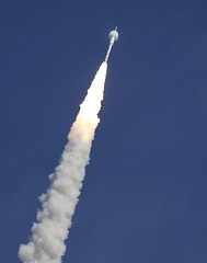 Ares I-X Rocket Launch: Bow Shock (NASA, 10/28...