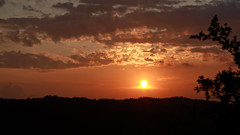 It's over (Aka-47) Tags: trees light sunset sea sky sun mountains color luz sol clouds atardecer mar rboles mediterranean shadows border croatia silouette slovenia cielo nubes puestadesol silueta sunrays sombras frontera eslovenia croacia mediterrneo montaas rayosdesol hrvatskarepublika