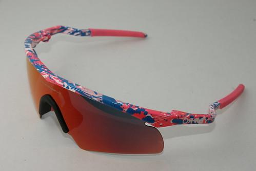 Splatter M-Frame pink/red iridium - a photo on Flickriver
