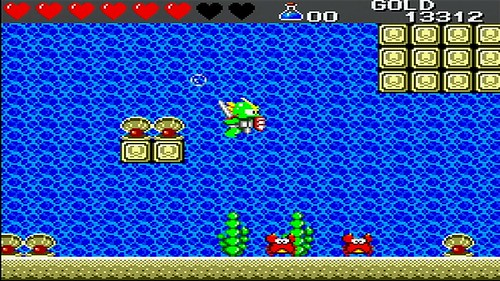 Wonder Boy III: The Dragon's Trap (Virtual Console)