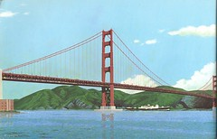 Double-deck Golden Gate Bridge (1968) (Eric Fischer) Tags: sanfrancisco plan freeway us101