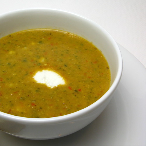 Corn & Pepper Soup