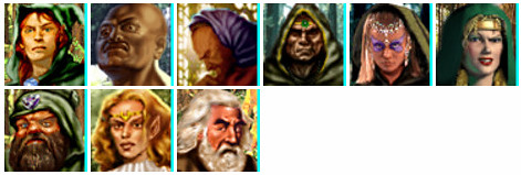 Heroes of Might and Magic 3 Rampart Druids