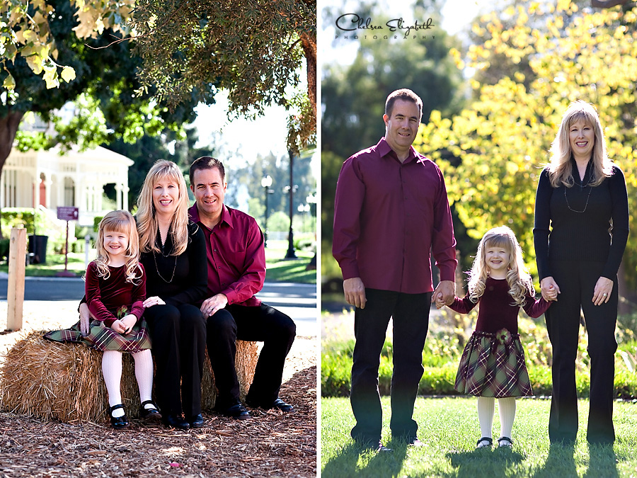Camarillo ranch house christmas mini-session portrait session