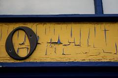 Oh (Generik11) Tags: sf blue art face yellow architecture faces vampire fangs foundinsf sfist gwsf gwsf5party gwsflexicon