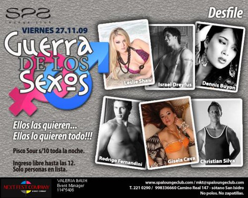 Guerra de los Sexos - Spa Lounge Club
