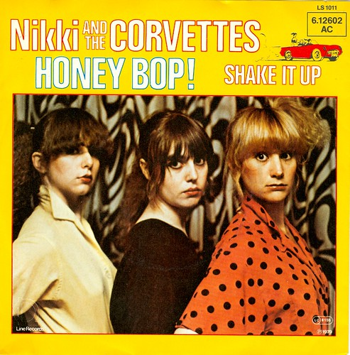 25 - Nikki & The Corvettes - Money Bop - Bomp - D - Line - LS 1011 - 1979