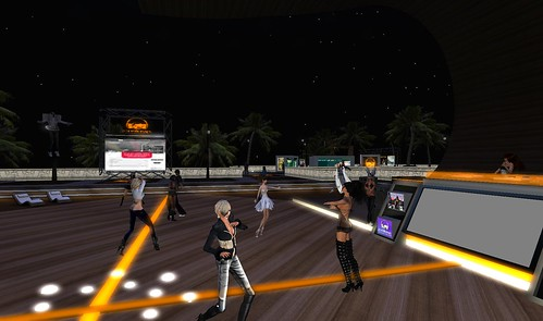 scoutlounge party virtual world second life