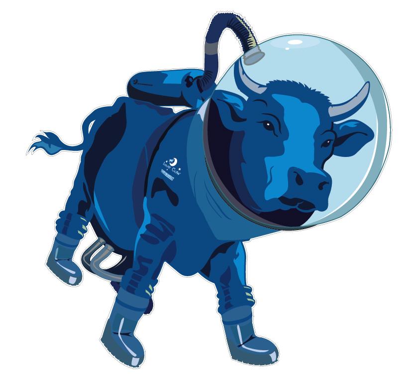 cow astronaut - photo #4