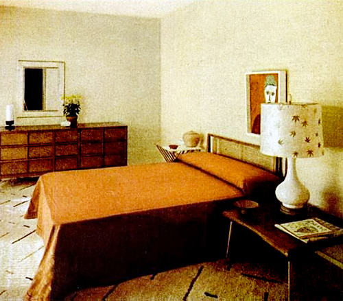 Mid-Century Living: Early '50s Bedrooms (1950-55