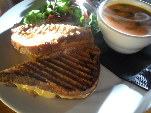 grilled cheese sandwich. kevincrumbs