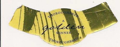 Thwaites Thoroughbred Gold bottle neck