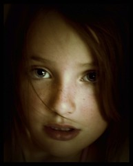 (serendipityfoto) Tags: summer hair eyes blueeyes daughter haunting unfocused middlechild chidhood iadoreher fullofspunk serendipityfoto