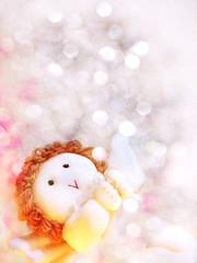 My little Christmas spirit (mintukka) Tags: christmas xmas pink winter light white texture angel fairytale december bokeh spirit ornament fancy wintertime fairylights christmasspirit fairytaleworld softangel christmasfairytale chubbyangel softyangel mychristmasstuff myfairytaleworks