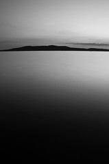 Minimalism ~ Explored ~ (Sergiu Bacioiu) Tags: sunset sea summer sky cloud white black nature water monochrome season landscape island coast natural cloudy outdoor dusk wide croatia minimal minimalism adriatic sibenik
