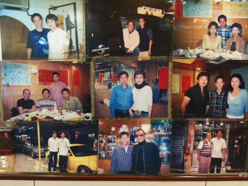 More local HK Celebrities eating here