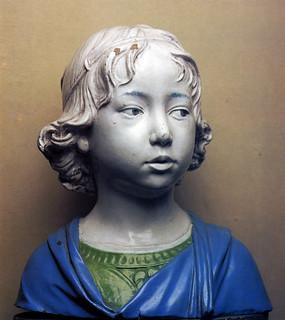 Andrea della Robbia, Fanciullo, 1475 ca. Firenze, Bargello