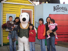 The gang with Snoopy
