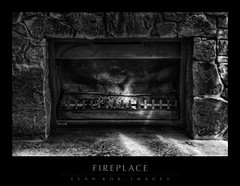 FIREPLACE (evankok) Tags: blackandwhite detail monochrome nikon fireplace shadows highlights hdr lastoftheyear gettingreadyforbiggerandbetterthingsnextyear
