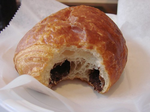 Inside the Pain au chocolat from Almondine
