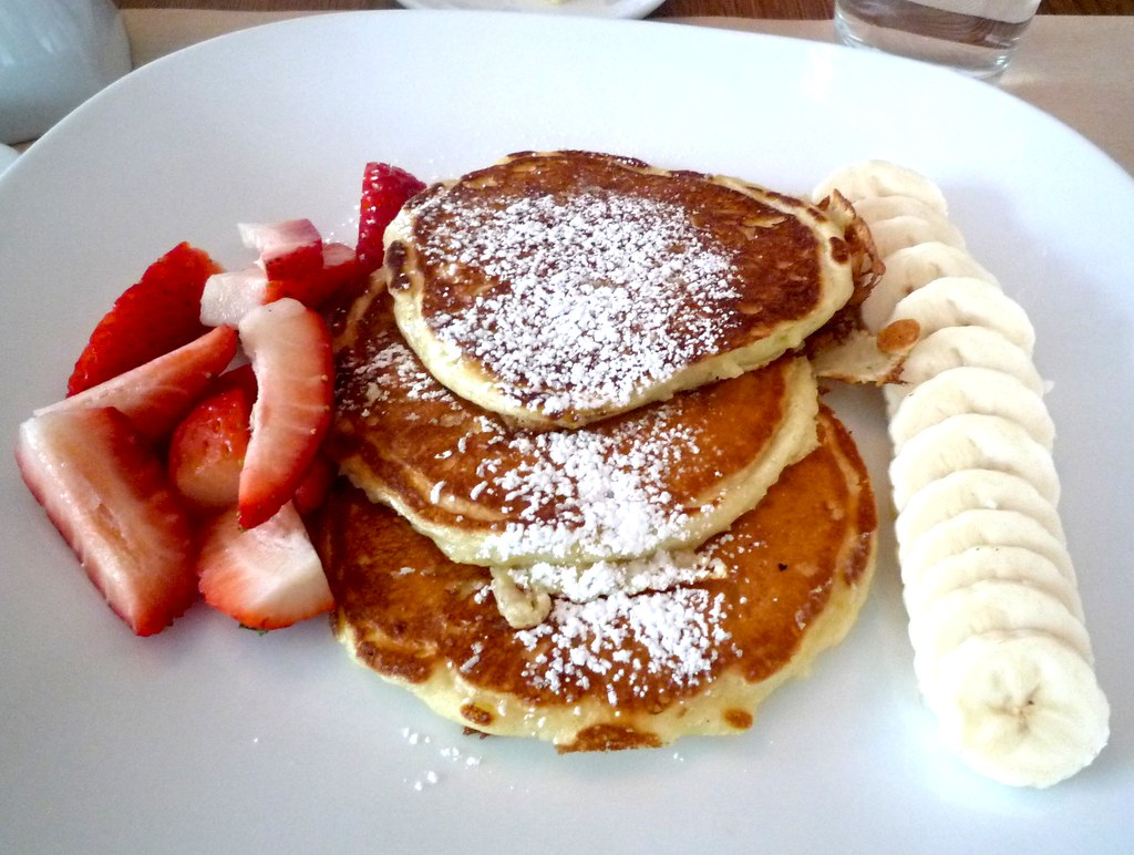Pancakes at Perry Street New York