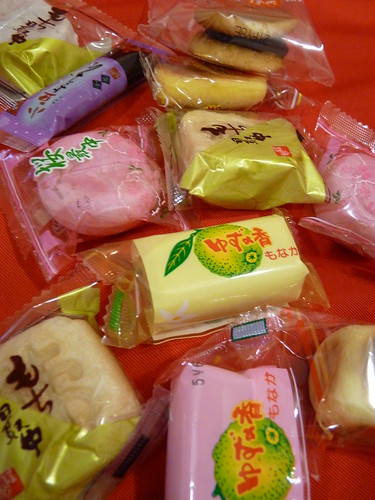 Bento sized variety cakes