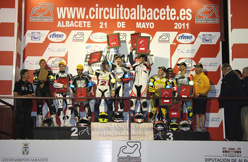 Podium Superstock 8 Horas Nocturnas Albacete