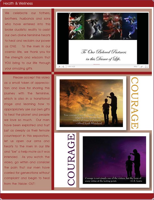 OMTimes Magazine : June 2011 Health & Wellness Editorial : Honoring Our Authentic Men pg3