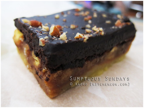 Chocolate-covered Salted Caramel Pecan Bar from Starbucks