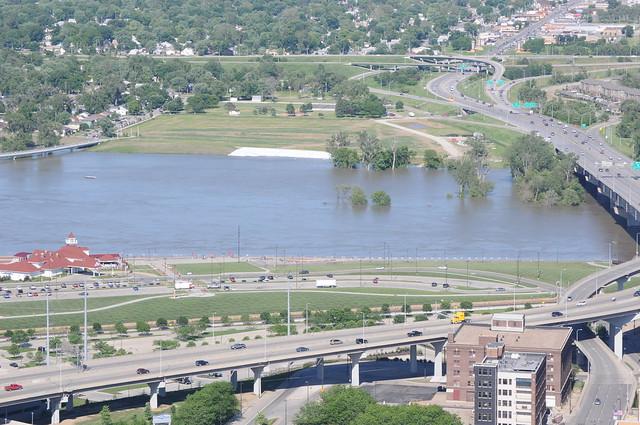Missouri River at Omaha - June 15, 2011