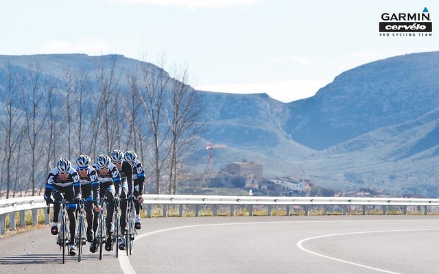 Wallpaper: Team Garmin-Cervelo, Girona Training Camp, Winter 2011