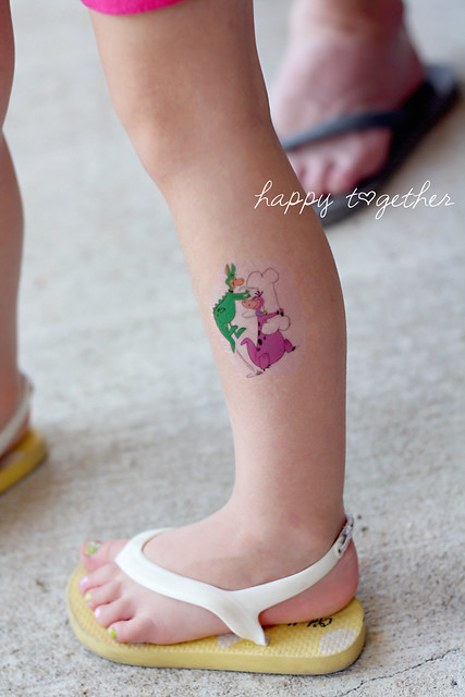 Cartoon Temporary Tattoo