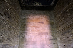 Dendera Temple: Sunlight Through the Hall (Life_After_Death - Shannon Renshaw) Tags: canon canoneos canoneos50d 50d eos dslr canondslr eosdslr canoneos50ddslr egypt dendera temple hallway hall sun sunlight engineering ancient ruin ruins architecture holy sacred egyptian history