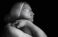 still lifelike (cherryspicks (on/off)) Tags: ivanmestrovic art sculpture marble head female monochrome blackandwhite portrait