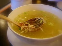 點水例煲湯-榨菜肉絲湯