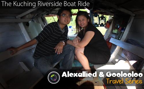 The Kuching Riverside Boat Ride